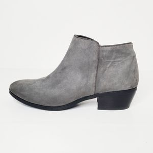 Sam Edelman Suede Petty Ankle Bootie Size 6